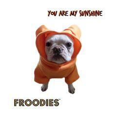 French Bulldog Boston Terrier Pug Froodies Hoodies Orange Sweatshirt Coat Jacket #FroodiesHoodies