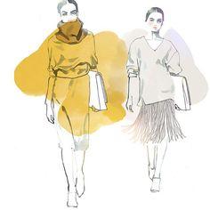 #illustration #drawing #instaart #fashionillustration  #fashion #style #fashionweek  #... | Use Instagram online! Websta is the Best Instagram Web Viewer!
