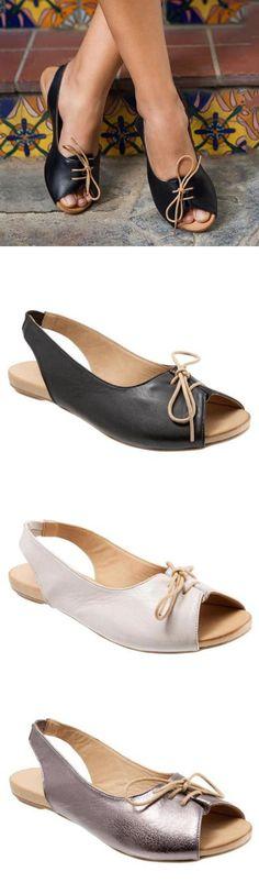caa2db1c0539f8 Women Summer Flat Heel Elastic Band Lace-Up Peep Toe Sandals