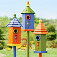 Birdhouses - I love birdhouses since the birds live in the ones in my yard. More