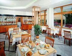 Sala colazioni hotel alba adriatica