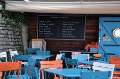 Un café dans le pays basque