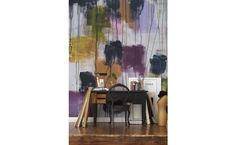 bloompapers.com Abstract painting mural #decor #wallpaper