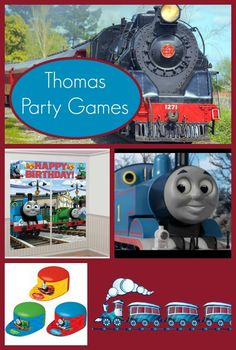 Thomas The Train Party Games For Kids Birthday Parties