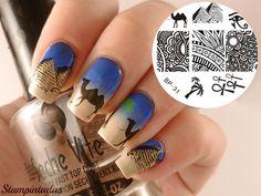 Nail ART Stamping Plaque Pochoir Template Plate Égypte Ongle Déco Born Pretty 31 | eBay