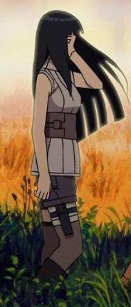 That's why Hiashi, Hanabi and Neji had long hair and ...