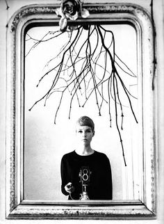 Astrid Kirchherr, self-portrait, c. 1960