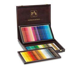 Caran d'Ache Supracolor Pencils in Wooden Box - Assorted Sets - Pencils - Drawing & Illustration 190 euro