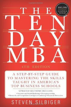 The Ten-Day MBA 4th Ed.: A Step-by-Step Guide to Mastering the Skills Taught In America's Top Business Schools by Steven A. Silbiger http://www.amazon.com/dp/0062199579/ref=cm_sw_r_pi_dp_eN0Fvb1AHBQ0T