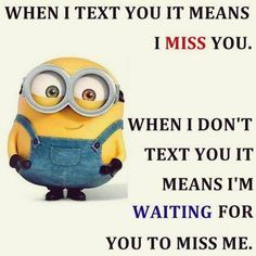 If only my crush will see this!!!! He never texts me first....