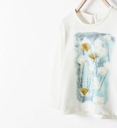 Image 3 of DANDELION T-SHIRT from Zara