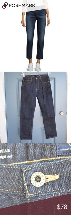 dc265ea3 High-Rise Straight Jeans by Adriano Golschmied Adriano Goldschmied The  Isabelle high-rise straight