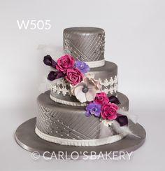 Panadería de la torta de la boda de Carlo