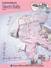 Sweet Baby Layette LW1297 - I made this layette many years ago - great to find this pattern again, it's so delicate.