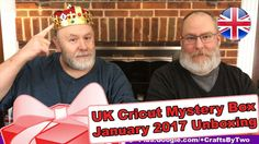 """United Kingdom's Cricut Mystery Box - January 2017 Unboxing - http://www.craftsbytwo.com/united-kingdoms-cricut-mystery-box-january-2017-unboxing/ Let's ring in the new year with a Mystery Box! Joins us to finally see what came in the January Mystery Box for the United Kingdom!  Visit our blog by clicking for the easy shopping link, and a list and gallery of the contents if you don't want to watch the video!  Spoilers, darling.  Check out """"United Kingdom's Cricut Myste"""
