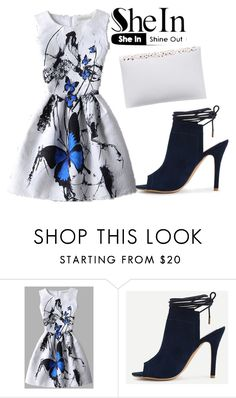 """#2/2 Shein"" by ahmetovic-mirzeta ❤ liked on Polyvore"