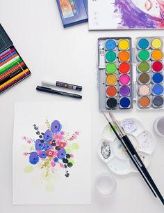 Art Journal - Janna Werner - Aquarell / Watercolor