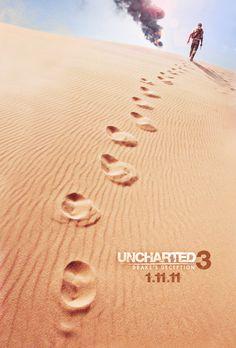 Uncharted 3 Key Art http://www.behance.net/marcusekstrom