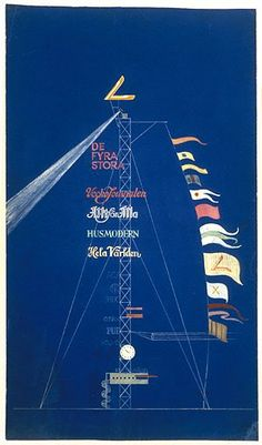 #LumiereLDN #light Erik Gunnar Asplund, Advertising Mast, Stockholm Exhibition 1930 via @IMargolius