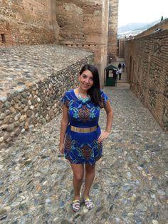 #alhambra #granada #look #outfitforholiday #paez #yumilondondress #yumilondon #viaje #vacaciones #alcazaba