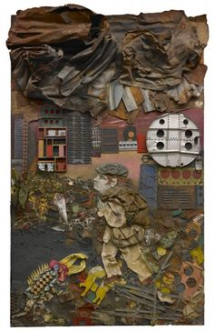 """Museum of Fine Arts Houston hosts 'Antonio Berni: Juanito and Ramona' """"Art is a response to life. To be an artist is to undertake a risky way to live, to adopt one of the greatest forms of liberty,… Painting Collage, Collage Art, Collages, Paintings, Kunsthistorisches Museum, Houston Museum, Social Realism, Museum Of Fine Arts, Art Museum"""
