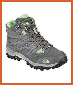 The North Face Storm II Mid WP Womens Limestone Grey/Paradise Green 5H - Athletic shoes for women (*Amazon Partner-Link)
