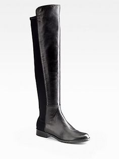 Back to the #classics - Stuart #Weitzman 5050 Leather Knee-High Boots