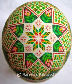 Saving the World: One Egg at a Time: Fields of Flowers (Turkey Egg)