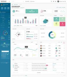 Dashboard Admin Panel PSD Template by laaqiq on Google Analytics Dashboard, Dashboard Examples, Dashboard Interface, User Interface Design, Dashboard Template, Dashboard Design, Admin Panel Template, Kit Ui, Application Ui Design
