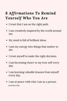30 Bright Affirmations and Helpful Reminders For Positive Living - The Ultimate Inspirational Self Help Website Positive Affirmations Quotes, Self Love Affirmations, Morning Affirmations, Affirmation Quotes, Positive Quotes, Healing Affirmations, Self Love Quotes, Words Quotes, Quotes To Live By