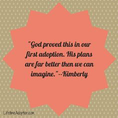 from one of our families! #lifetimeadoption #adoptionquotes #adoption