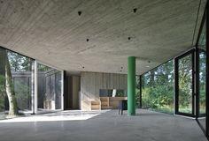 Дом в виде бетонного кольца
