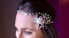 Braut Hochzeit Strass Applique Kette Stirn Stirnband Party Fancy Dress