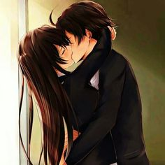 Anime My Teen Romantic Comedy SNAFU Yukino Yukinoshita Hachiman Hikigaya Long Hair Brown Hair School Uniform Kiss Garota Boy Papel de Parede Couple Anime Manga, Anime Couple Kiss, Anime Cupples, Romantic Anime Couples, Anime Couples Drawings, Anime Couples Manga, Chica Anime Manga, Kawaii Anime, Anime Couples Hugging