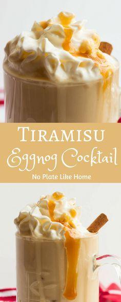 Tiramisu Eggnog Cock