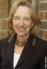 "Doris Kearns Goodwin, Delta Delta Delta, won the 1995 Pulitzer Prize for History for her book ""No Ordinary Time: Franklin and Eleanor Roosevelt: The Home Front in World War II."" #sororityhistory #deltadeltadelta #IThinkSheVoted"