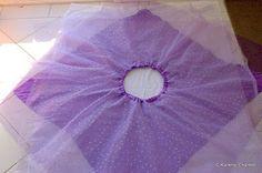 (DIY) Basic Fairy Skirt. | Huda Luna Hussin