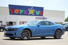 Hot Wheels Special Edition 2013 Chevy Camaro SS. I love this color!