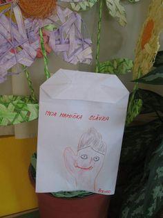 Kreslenie na desiatový sáčok