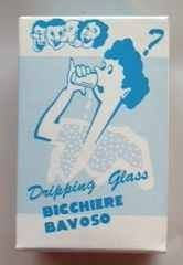 Dribble Glass - 8 Oz. - A Lot of Wet Laughs! by Rock Ridge Magic. $4.95. An 8oz. real glass has holes hidden around the edge. Set one on the breakfast table for your overnight guest. A lot of wet laughs. Individually boxed.
