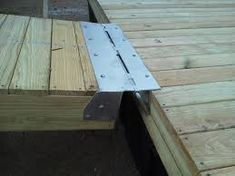 Image result for floating dock ramp design