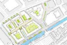 7N Architects Unveils Masterplan for Edinburgh's Fountainbridge Site