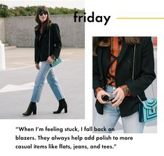 Weekday Wardrobe: Our Editor in Chief's Cool Office Style via @WhoWhatWearAU