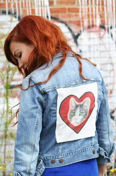 Make Your Own Canvas Patches with an Ink Printer How To Make Patches, Diy Patches, Denim Cutoffs, Diy Clothes, Clothes Refashion, Diy Canvas, Diy Fashion, Make Your Own, Things To Sell
