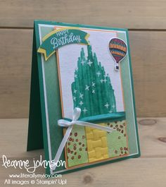 No Place Like Home | Stampin\' Up! | Beauitful Bouquet | Petal Pallette | Waterfront | Lift Me Up | Magical Day #literallymyjoy #wizardofoz #yellowbrickroad #noplacelikehome #emeeraldcity #nolongerinKansas #toto #dorothy #tinman #scarecrow #lion #EmeraldEnvy #PeekabooPeach #2018OccasionsCatalog #20172018AnnualCatalog
