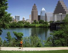 Lady Bird Lake Trail, Austin - I love that Austin has a big lake another reason to call it home there sometime in the future...