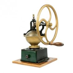 la Bodega Antiques. Antique Coffee Grinder French PEUGEOT FRERES A2 Cast Iron Single Wheel A2.