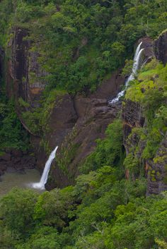 Falls above Port Moresby PNG
