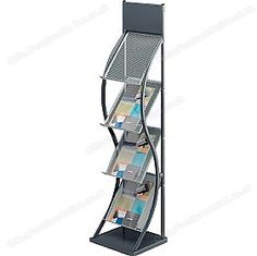 Free UK mainland delivery on Wave Leaflet Dispenser. Brochure Stand, Office Makeover, Presentation, Waves, Weight Loss, Display, Contemporary, Dinner, Furniture