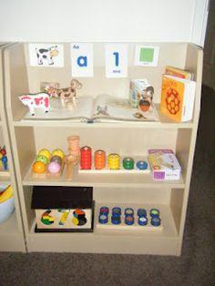 : Our Environment (a great list of Montessori based activities) Montessori Classroom Layout, Reggio Classroom, Montessori Room, Montessori Toddler, Montessori Activities, Classroom Setup, Montessori Homeschool, Preschool Rooms, Preschool Literacy